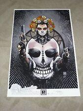 LA DAMA MECHANIKA DE LOS MUERTOS ART PRINT by PETER STEIGERWALD 13x19 #d xx/75