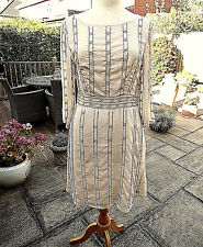 H&M GOLD SPARKLY Party / Evening  Dress  SIZE UK 14 - BNWT & PERFECT!