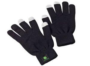 John Deere Touchscreen Handschuhe Schwarz Winter Display Smartphone Handy