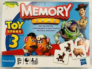 2010 Memory Game: Toy Story 3 by Milton Bradley New FREE SHIPPING