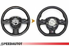 Cambio S-LINE Adintelado Volante Multif Chal de Cuero Audi A4, A6, A8, 23