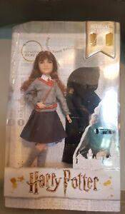 Harry Potter Hermione Granger Hogwarts Uniform Doll Figure Wizarding World NEW