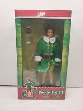 "Elf (movie) 8"" Clothed Action Figure – Buddy The Elf NECA with Spaghetti & Syrup"