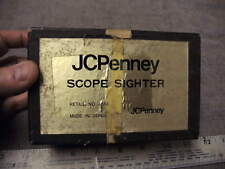 Vintage J.C. Penny # 4514 Scope Sighter Looks Unused in Box with 22 & 30 Arbors