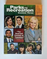NEW SEALED Parks and Recreation Season Three DVD (3 Discs) NBC 2011