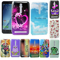 "Ultra Smooth Soft Silicone Rubber Cover Case For ASUS Zenfone 2 5.5"" ZE550ML"