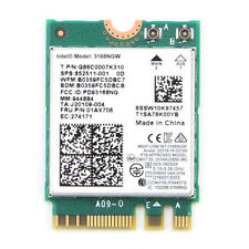Wireless-AC 433Mbps Intel 3168NGW Dual Band Bluetooth 4.2 M.2 NGFF WiFi Card