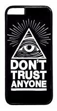 Illuminati Mason Eye New Design Back Case For iPhone Models Rubber/Hard Cover