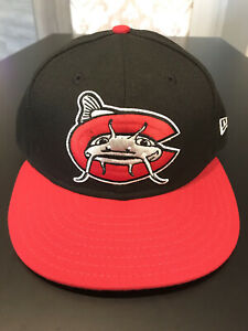 Carolina Mudcats New Era 5950 Hat Cap Size 7 1/4 NWT Made In USA