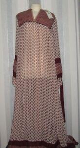 Maison Scotch Bohemian Maxi Dress, Multi  UK Size XL = UK 14