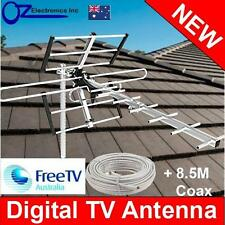Greentek Outdoor TV Antenna UHF VHF FM 4 AUSTRALIAN conditions city Areas NEW