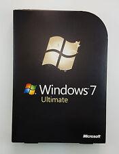 MS Windows 7 Ultimate  32 64 Bit DVD Retail Vollversion Deutsch GLC-00205