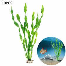 10 PCS Artificial Plastic Grass Aquarium Sea Weed Plant Fish Tank Ornament Decor