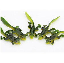 15pcs Frog Soft Bait Plastic Silicone Fishing Lures Worm 3.15in/3g Wobbler Bass