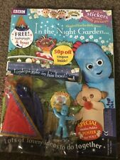 in the night garden magazine igglepiggle in his boat