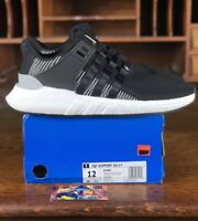 online store ef912 1cc74 Adidas EQT Support 9317 Mens Running Shoe BlackWhite BY9509 NEW Mens Size