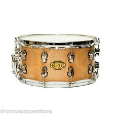 "Ludwig 7x14 Epic ""The Brick"" Snare Drum Natural Birch LCEP074SNB"