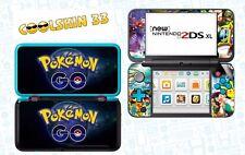 POKEMON GO - vinyl Skin Aufkleber für Nintendo NEW 2DS XL (C-Stick)- réf 210