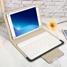 7/10inch Tablet PC PU Leather Case +Bluetooth Keyboard For Android Windows iOS