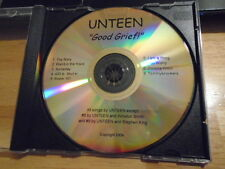 RARE PROMO Unteen CD Good Grief PUNK Stephen King TOMMYKNOCKERS tour INDEPENDENT