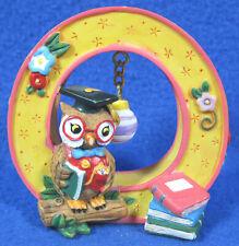 "1999 Mary Engelbreit Alphabet Letter ""O"" Owl Ornament Me Ink"