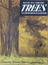 WALTER FOSTER SERIES #3 HOW TO DRAW TREES SHRUBS LANDSCAPES by FRED GARNER