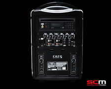 RARE AUDIO RA-WRB-80 Powerful Portable Wireless PA System 80watts Dual Receivers