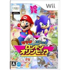 Used Wii Mario Sonic at the London 2012 Olympic Games Japan Import