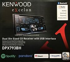 NEW Kenwood DPX793BH 2-DIN Bluetooth Car Stereo CD/USB/MP3 Receiver