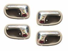 Set 4 Left Right Inside Door Beige handle for Mazda PROTEGE 323 95-03