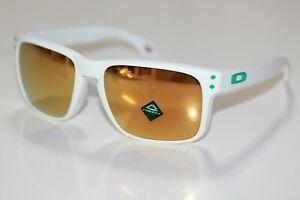 Oakley Holbrook POLARIZED Sunglasses OO9102-O655 White/PRIZM 24K SUPER BOWL LIV