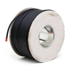 20M BLACK RG6 SATELLITE TV/AERIAL FREESAT/SKY COAX CABLE