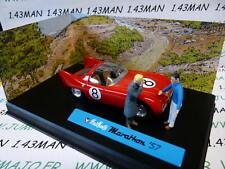 MV37R voiture altaya IXO 1/43 diorama BD MICHEL VAILLANT : MARATHON '57 n°37