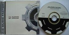⭐⭐⭐⭐ C+C MUSIC FACTORY ⭐⭐⭐⭐ I`LL ALWAYS BE AROUND ⭐⭐⭐⭐ 6 Track CD 1995 ⭐⭐⭐⭐