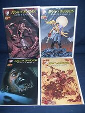 Army of Darkness Ashes 2 Ashes #3 Comic Lot NM with Bag and Board 4 Covers