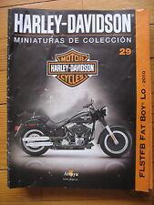 FASCICULE 29  MOTO COLECCION HARLEY DAVIDSON FLSTFB FAT BOY Lo 2010