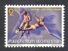 Liechtenstein 1990 World Cup/WC/Football/Sports/Games/Soccer 1v (n37724)