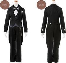 Black Butler Kuroshitsuji Claude Faustus Cosplay Costume