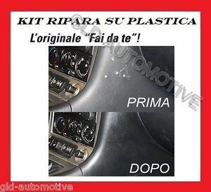 KIT Riparazione Universale Superfici in plastica da Fori Graffi Auto ATG