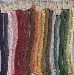 WEEKS DYE WORKS #5 Pearl Cotton- 3 SKEINS - MIX OR MATCH COLORS