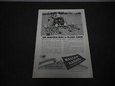 1946 Massey-Harris Tractor Co. Racine WI Print Ad Farm Equipment Corn Planter