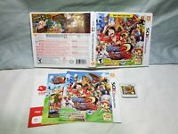 One Piece Unlimited World Red (Nintendo 3DS, 2014) Day one edition