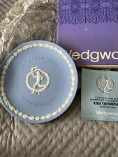 Wedgewood Commemorative Plate Moscow Olympics 1980