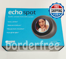 Amazon Echo Spot Smart Assistant - Black ✔ Brand NEW Retail Box ✔