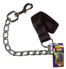 PDQ  Power Lead  Silver  Chain Lead  Steel  Dog  Leash  Small/Medium