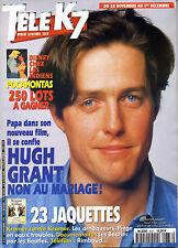TELE K7 1995: HUGH GRANT_LES BEATLES_MYLENE FARMER (Giorgino)_MURIEL ROBIN