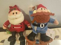 Yukon Cornelius and Santa Rudolph Island Toys Stuffins Lot of 2 with Tags 1999