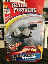 Transformers Fast Action Battlers Pulse Cannon IRONHIDE Action Figure NIP