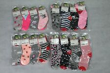 12 Paar Mädchen Socken Strümpfe Gr. 23-26 / 27-30 / 31-34 / 35-38 *85% Baumwolle