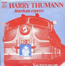 7inch HARRY THUMANN american express HOLLAND 1979 EX+